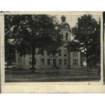 1928 Press Photo Court House, Webester Co, Walthall, Mississippi - neo13501