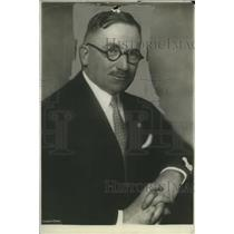 1934 Press Photo James L. Fieser Vice chairman Domestic Operations Red Cross