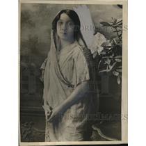 1925 Press Photo Miss Mithan Tata, Indian Woman Barrister Advocate of Bombay