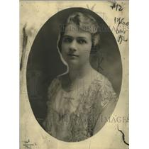 1922 Press Photo Madame Margrethe Somme Pianist - neo17680