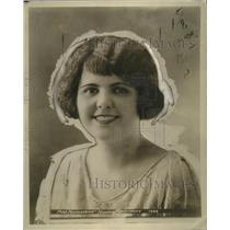 1923 Press Photo Mildred Maconachy, Beauty of Norristown, Pennsylvania