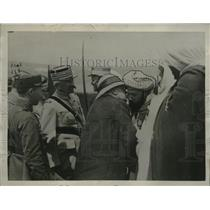 1922 Press Photo Pres Millerand of France in Morocco - neo19412