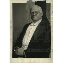 1929 Press Photo John Garland Pollard Governor of Virginia - neo20118