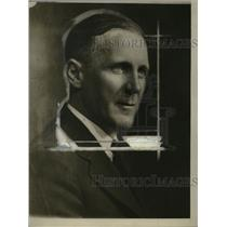 1929 Press Photo Hugh Allen, Ex-NEA Writer - neo20441