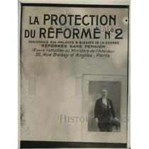 1918 Press Photo Pres Poincare of France - neo21520