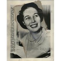 Press Photo Eugenia Harris Rice Institute Senior Selected as Cotton Bowl Queen