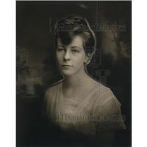 1916 Press Photo Miss Elizabeth Lyman Queen of Mittens in 1916 - neo23367