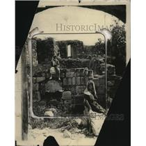 1924 Press Photo Bethany Jerusalem Ruins - neo23435