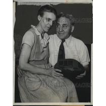 1933 Press Photo Amos Alonzo Stagg Football's Oldest coach celebrates birthday