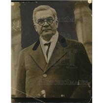 1927 Press Photo Mr Machado President of Cuba - neo25747