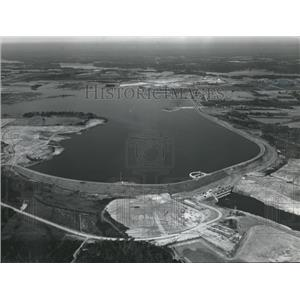 1969 Press Photo Alabama Power Company's Walter Bouldin Dam project completed.
