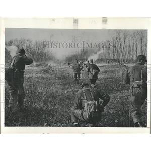 1979 Press Photo Army Troops Field Training Exercise - RRX85589