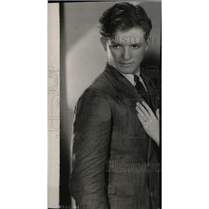 1931 Press Photo Eric Linden American Wind Minor Film - RRW78639