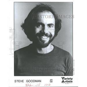 1983 Press Photo Steve Goodman Folk Singer Songwriter - RRV31453