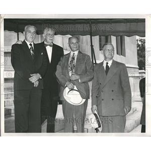 1950 Press Photo Gerald Groat Dewitt Merriman Groesbeck - RRV58173