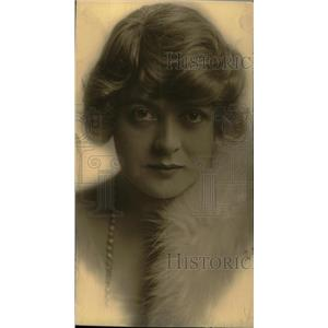 1916 Press Photo Mary Boland American Actress - RRW78289