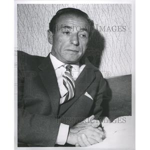1961 Press Photo Stanley Matthews Soccer England - RRQ03891