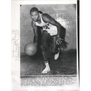 1960 Press Photo St Josephs College Bobby Williams Ball - RRQ00295