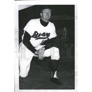 1963 Press Photo Expansion Pitcher Team Baseball Major - RRQ00433