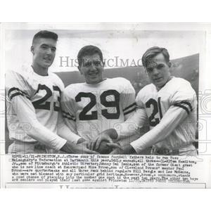 1931 Press Photo Famous Football Sons Princeton - RRQ01339