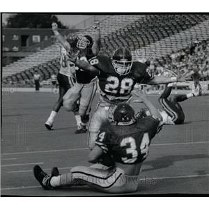 1989 Press Photo Northwestern vs Minnesota - RRQ02005