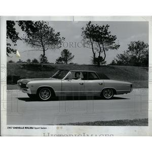 1967 Press Photo Malibu Sport Sedan - RRQ02131