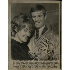 1970 Press Photo Thomas Edward John Chicago White Sox - RRQ02775