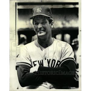 1979 Press Photo Thomas Edward John JrChicago White Sox - RRQ02779