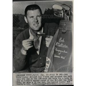 1962 Press Photo Bob McCallister Bob Goaly- RRQ03201