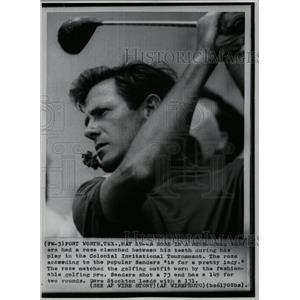 1974 Press Photo George Douglas Sanders Golfer PGA Tour - RRQ03363