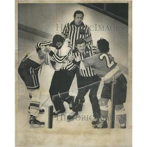 1976 Press Photo Colo Rockies Hockies player - RRQ03665