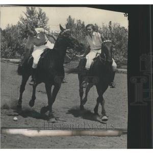 1929 Press Photo Polo horseback team sport - RRQ04113
