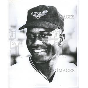 1966 Press Photo Paul Blair Baltimore Orioles - RRQ04221