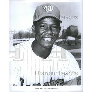 1968 Press Photo Hank Allen Baseball player Washington - RRQ04241