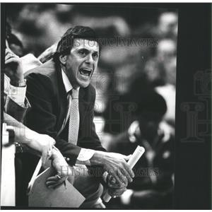 "1982 Press Photo Lawrence Harvey ""Larry"" Brown - RRQ04753"