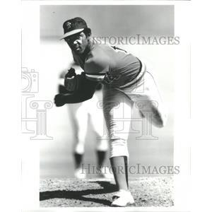 Press Photo Vida Blue Major League Baseball - RRQ05165