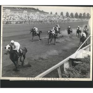 1960 Press Photo Racing Horse Liberator - RRQ05681