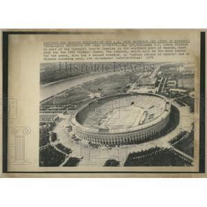 1934 Press Photo V. I. Lenin Stadium in Moscow Russia - RRQ05903