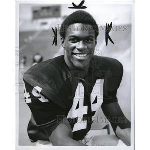 1970 Press Photo Preston Henry football player - RRQ07801