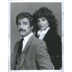 1982 Press Photo Lee Horlsey & Pamela Hensley, ABC-TV - RRU75703