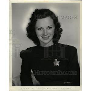 """1939 Press Photo Actress Jane Clayton """"In Old Mexico"""" - RRW25397"""