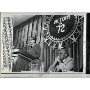 1972 Press Photo Sen. Robert Griffin - RRX22227