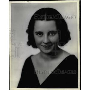 1935 Press Photo Jane Dickerson Actress - RRW26617