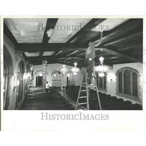 1982 Press Photo Hispanic Bible School Nielsen Funeral - RRV95119