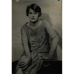 1929 Press Photo Mary Boland Meet The Wife - RRW78291