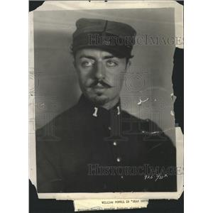 1926 Press Photo William Powell US Actor Beau Geste - RRW36777