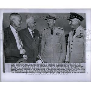 1956 Press Photo Group will discuss Russian Air Power - RRU92067