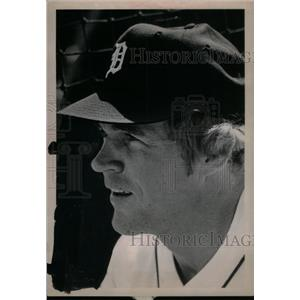 1975 Press Photo Muckey Stanley Baseball Player Mich - RRX38583
