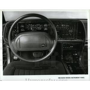 1990 Press Photo Autos Buick Riviera Instrument Panel - RRY62441