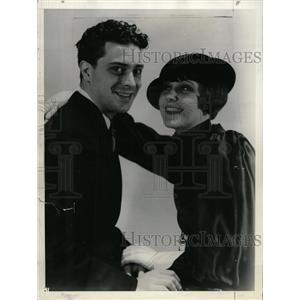 1938 Press Photo Fifi D'Orsay Actress Maurice Hill - RRX73199
